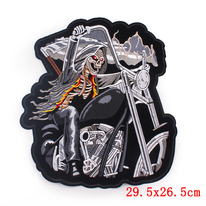 Motorcycle Lron On Patches