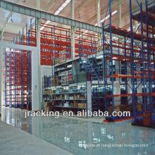 Mezanino fácil do armazenamento do armazém do revestimento de mezanino da instalação