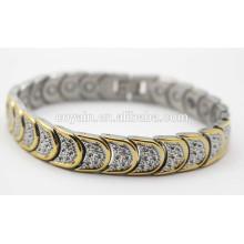 Shiny 18K Gold Plating magnetic bracelet for women