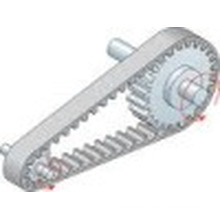 Auto Parts Timing Belt for Toyota Hillux/Hiace (110RU21)