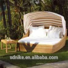 outdoor rattan wicker sunbed