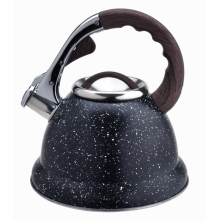Durable stainless steel stovetop whistling coffee tea kettle