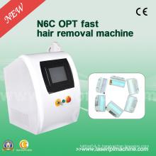 N6c High-Frequency IPL Hair Removal Machines Rajeunissement de la peau 2000W