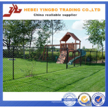 Yb-17 2016 New Cheap Price PVC Coated Road Chain Link Fence
