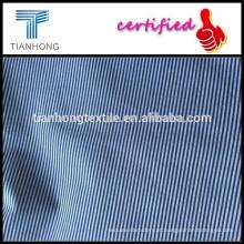 listras popeline/fêmea yarn-dyed do saco saia quadril tecido/texturizado saia tecidos