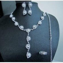 Pearl Wedding Set Necklace and Earring Fashion Jewellery