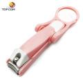 China fornecimento criativo Clipe multi-funcional lupa clippersoenail clipper / unha tesoura