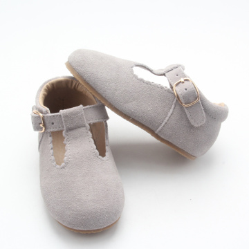 Kulit Lace up Tbar Kids Girl Dress Shoes