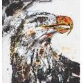 Animal Eagle Glass Mosaic Tile Oil Painting Mural