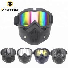 Équitation sécurité sportive masques lunettes de motocross