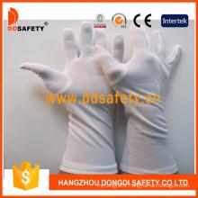 White Nylon Gloves Dch249