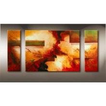 Peinture à l'huile abstraite moderne sur toile pour la décoration