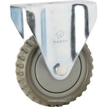 Roues à roulettes en PVC de type moyen (KMx1-M5)