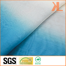 Polyester Light Gradient Colour Inherently Flame Retardant Fireproof Voile