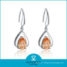 Latest Fancy Earrings Silver Jewelry for Wholesale (E-0191)