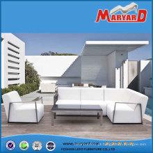 2016 nova PU couro mobília ao ar livre mobiliário de jardim