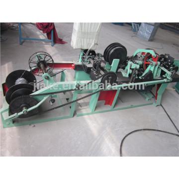 Máquina de malla de alambre de púas doble torcido común para la venta