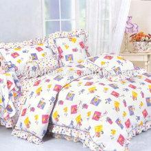 China-Lieferant, 100% Baumwolle 200T bedruckten Stoff, Baumwollgewebe für Bettwäsche-Set