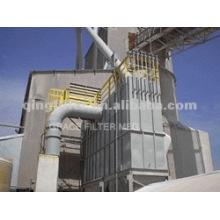 Système de poussière de ciment