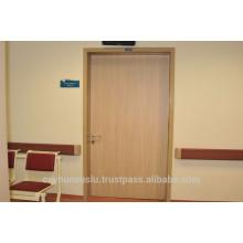 Porte stratifiée pour hôpital avec cadre en aluminium