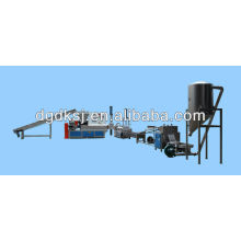 Plastic Scrap Recycling and Granulating Production Line DKSJ-140A