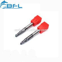 BFL Straight Shank Tungsten Solid Carbide Micro Drills Bits For PCB