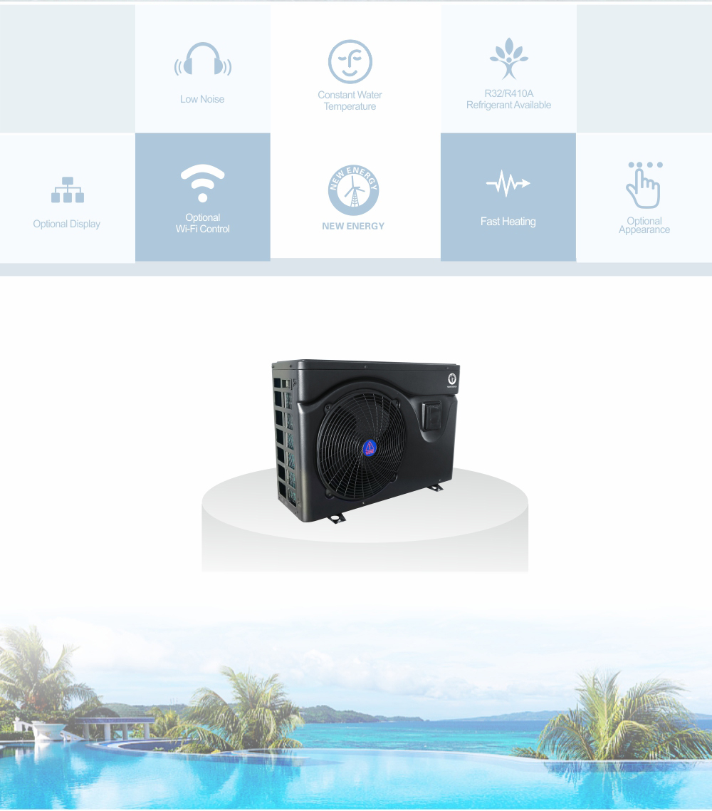 air source heat pump for swimming pool