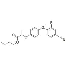 Propanoic acid,2-[4-(4-cyano-2-fluorophenoxy)phenoxy]-,( 57279074,2R)- CAS 122008-78-0
