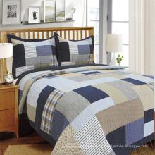 Modern Style Simple Patchwork Quilt Thin Quilt (WSPQ-2016004)
