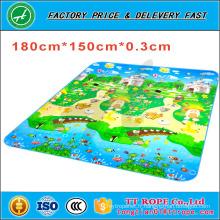 Tapis de jeu double face d'usine de la Chine rampant le tapis de plancher de mousse