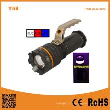 Y58 Aluminium 10W haute puissance Xml T6 LED extensible lumière portable