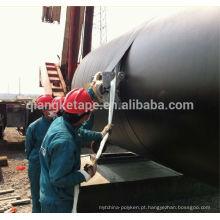 Revestimentos subterrâneos da corrosão do encanamento do envoltório exterior exterior da fita do polietileno de Qiangke