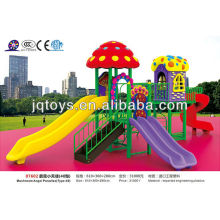 JS07602 Large Outdoor Plastic Playground Amusement Park Toy