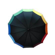 Colorful Printing Straight Umbrella (JYSU-08)