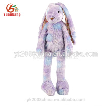 YK GSV ODM colorful mini long legs plush toy rabbit