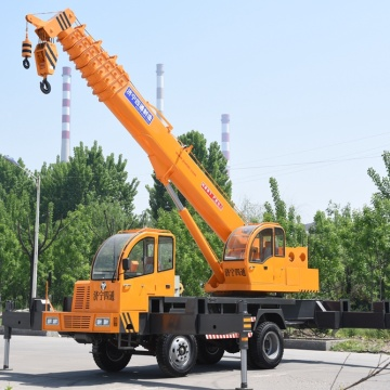 Home made 12 Ton Hydraulic Truck Crane