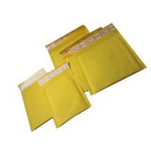 Sac kraft rembourré personnalisé enveloppes kawaii jaune kraft