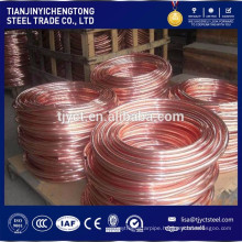 Air Condition Refrigerator Application Pancake Coil Copper Tube / Pipe