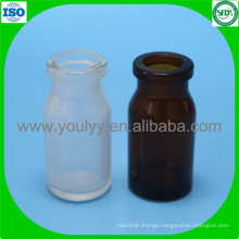 10ml Clear and Amber Moulded Bottle