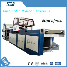 Máquina automática de globos de papel de aluminio