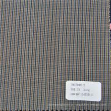 tecido do terno da fibra do lyocell do poliéster de lãs para o vestido formal