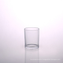 Stock Glass Cups Cup with Metal Lid Wholesale Other Tumbler