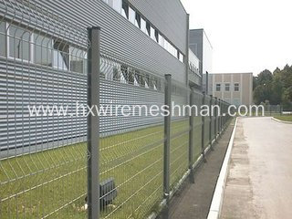 PVC Coated Weld Mesh Fencing
