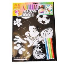 colorear lindo de los niños coloreado borroso terciopelo personalizado