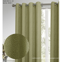 Jacquard 100% Polyester Window Curtains