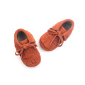 Fashion Double-Deck Mokassins Leder Babyschuhe