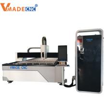 máquinas de corte a laser de fibra para chapas de aço inoxidável 1kw 2kw 3kw