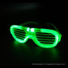 lunettes à monture métallique