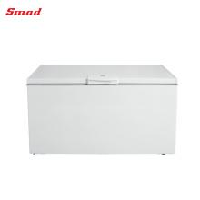 Congelador de cofre de puerta sólida interior doméstico de uso popular
