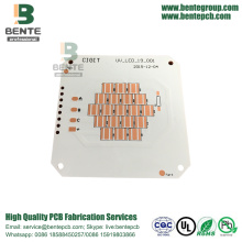 1 Layer PCB Copper base PCB ENIG Metal PCB